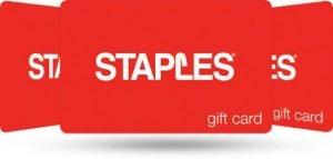 Swagbucks pending from Staples.com Visa gift cards